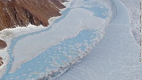 In this NASA handout image obtained December 15, 2014, the glaciers and landscape in northeast Greenland as it looked on April 19, 2013. A warming planet may lead to swifter ice loss on Greenland's ice sheet, and faster sea level rise for the rest of the world than previously predicted, scientists said Monday. Two separate international studies raised concern about the pace of ice melt on the world's second largest ice sheet after Antarctica, and suggested that scientists may have underestimated the variable behavior of Greenland's ice.