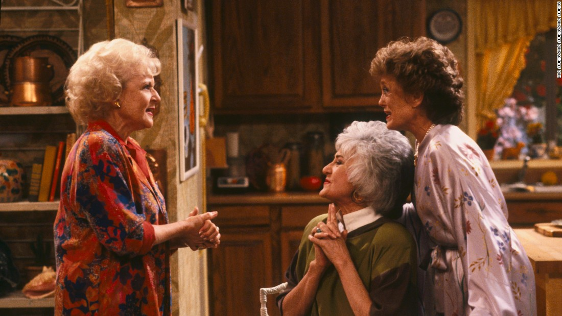 "White's next major starring role was as Rose Nylund on ""The Golden Girls."" The show about Florida retirees, which ran from 1985 to 1992, also starred Bea Arthur, center, and Rue McClanahan."