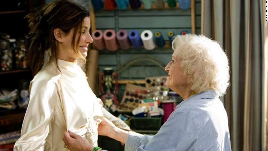 "The 2009 film ""The Proposal,"" in which White played the grandmother of Ryan Reynolds' character, gave her a new boost in popularity. She and co-star Sandra Bullock, left, exchanged jokes at the 2010 Golden Globe Awards, at which White was given a lifetime honor."