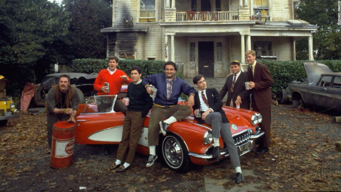 "In 1978's ultimate college caper, ""Animal House,"" Dean Wormer wants to expel the wild Delta Tau Chi fraternity, but these party animals won't go quietly. Click through for more movies that chronicled college life."