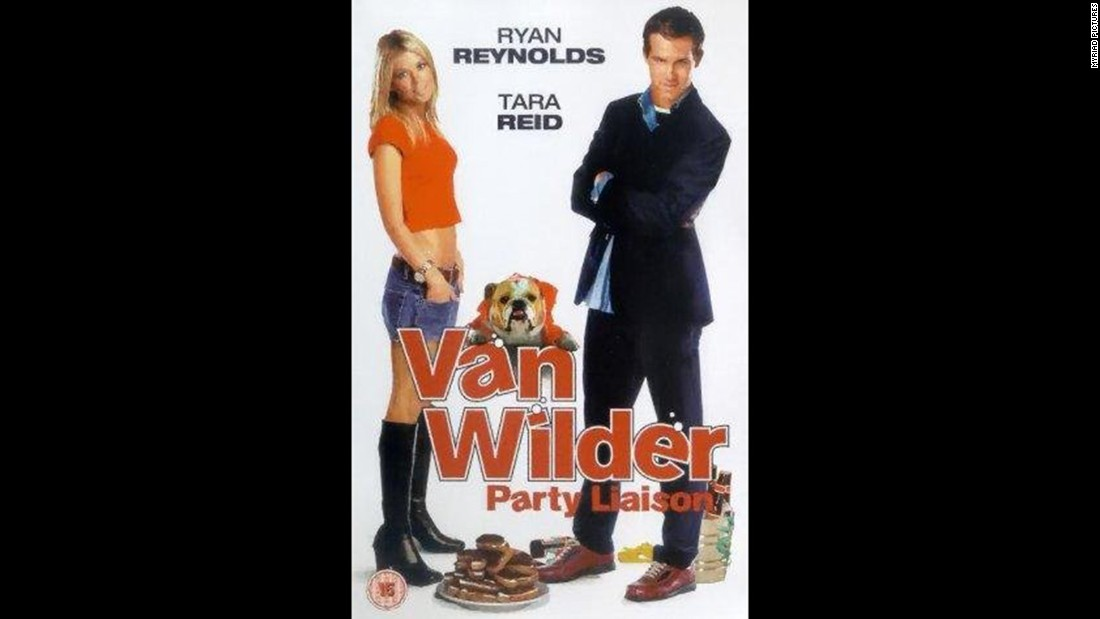 "Ryan Reynolds is the titular wild man in 2002's ""National Lampoon's Van Wilder,"" about a popular college student who fears moving on."