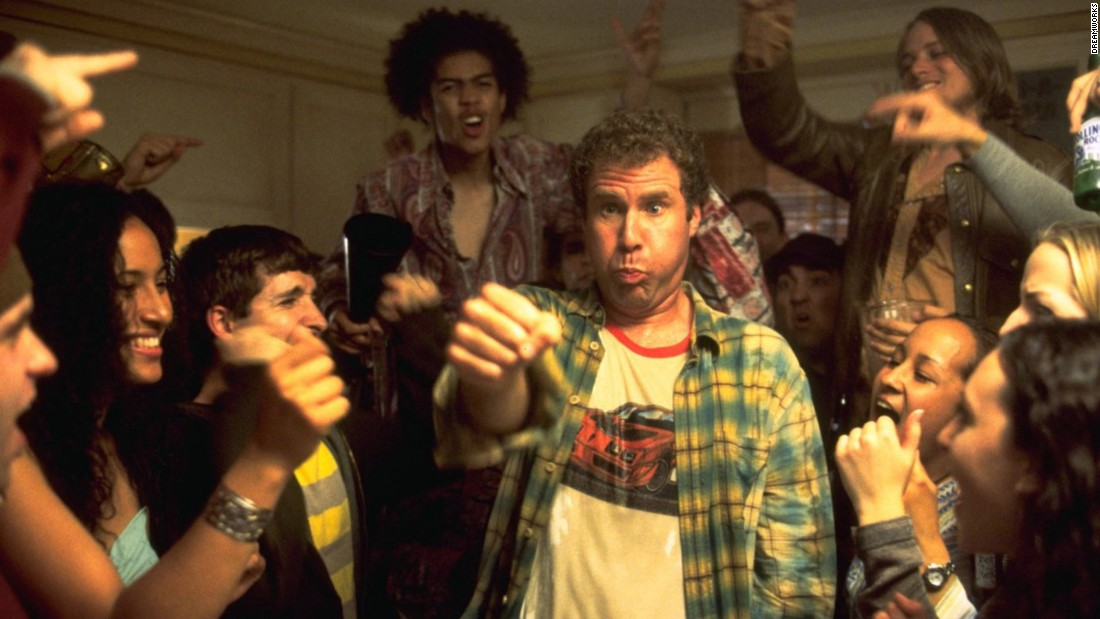 "In 2003's ""Old School,"" a group of wizened buddies decide to start their own fraternity. Will Ferrell's desperately funny antics as Frank ""The Tank"" steal the show."