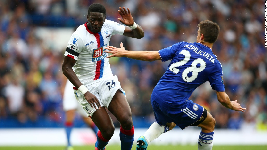 Bakary Sako opened the scoring for Palace just after half time.