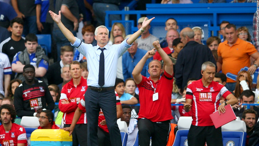 Palace manager Alan Pardew hailed his players belief in securing the unlikely 2-1 win.