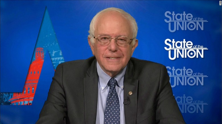 Bernie Sanders says he's 'strong' on gun control