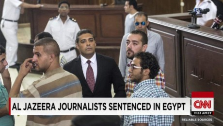 exp RS 08 30 Al Jazeera journalists sentenced in Egypt    _00001009