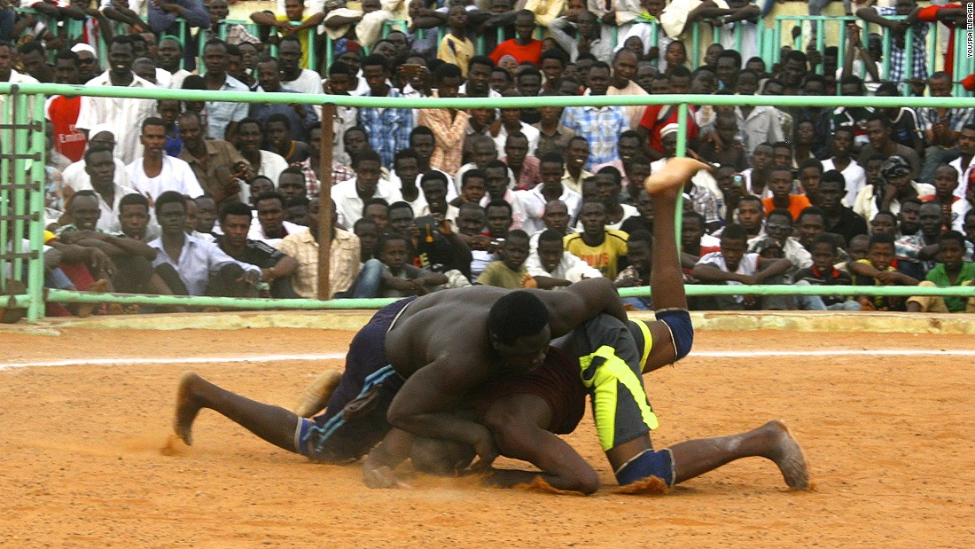 Similar to street football in Brazil, wrestling is seen by many as a ticket out of the slums and into international stardom.