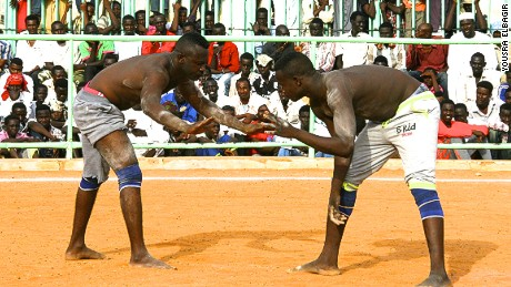 Olympic ambitions for Sudan's Nuba wrestlers