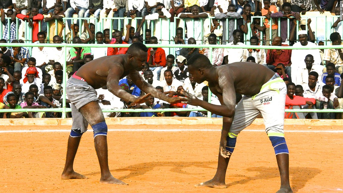 Wrestling is very popular in parts of Sudan. Far more than just a game, it is a display of gallantry and valor, steeped in heritage.