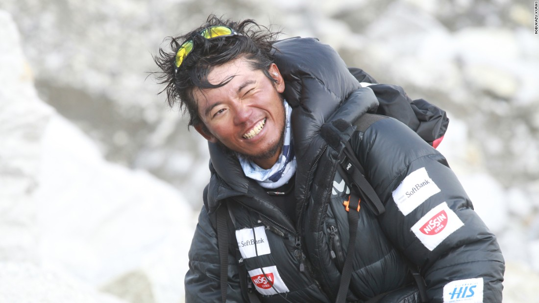 Japanese mountaineer Nobukazu Kuriki, 33, from Hokkaido, is preparing to make his fifth attempt to summit Mount Everest in Nepal in September, 2015.