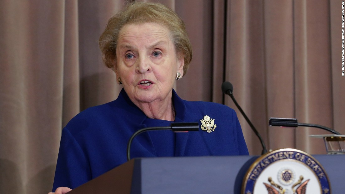 Madeleine Albright: Iran deal is a win-win