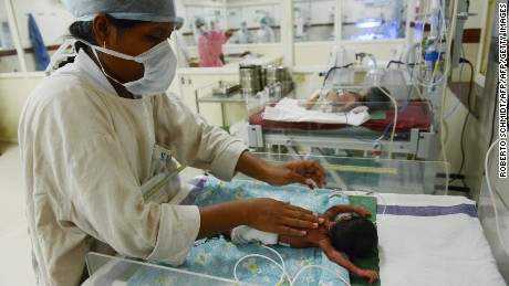 India's Prime Minister has expressed his concern at the country's infant mortality rate.