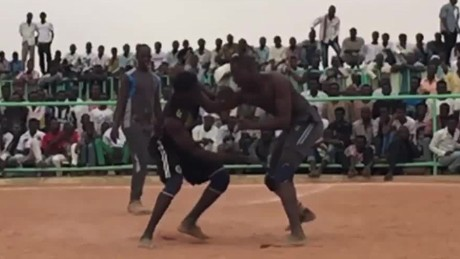 Sudan's wrestlers aim for Olympic glory