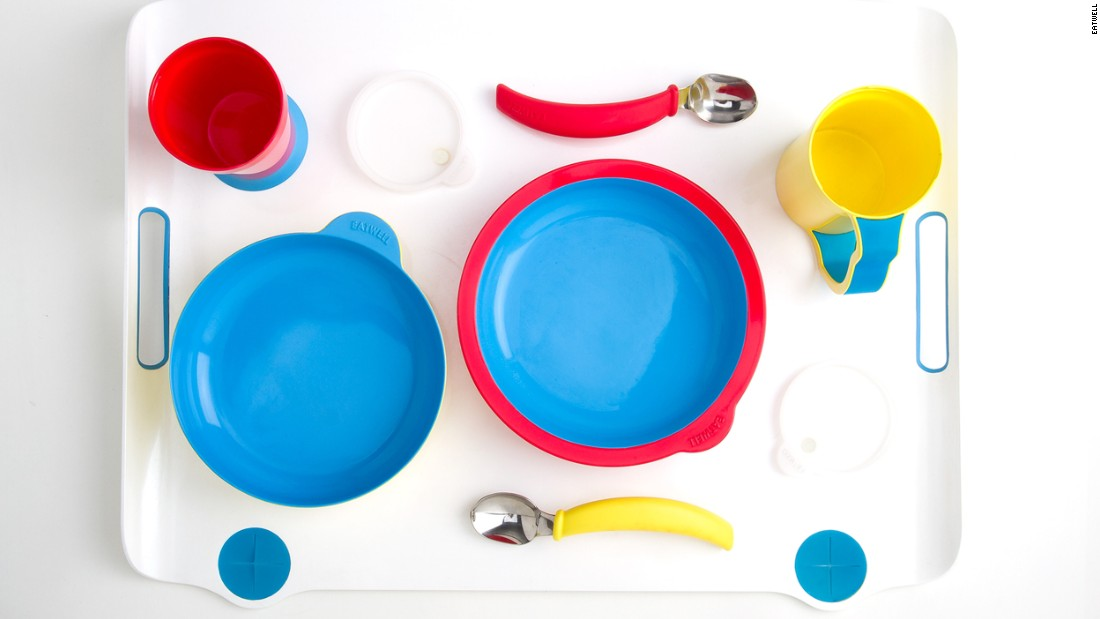 The complete Eatwell tableware set