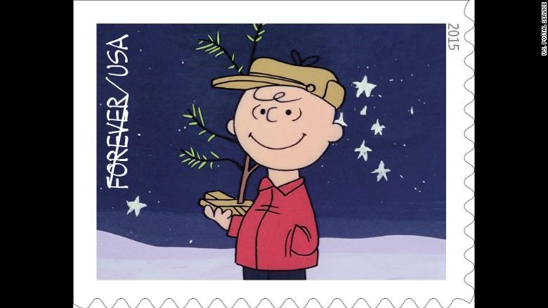 Charlie Brown Christmas' stamps go on sale - CNN
