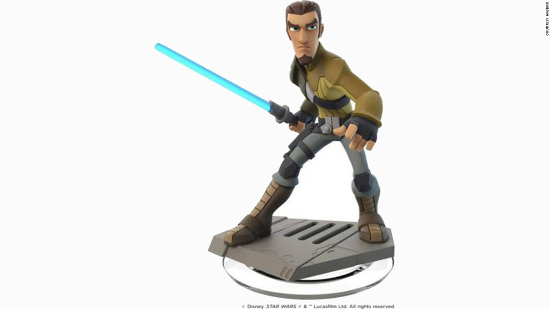 A new Disney Interactive figure of Kanan Jarrus was introduced in September.