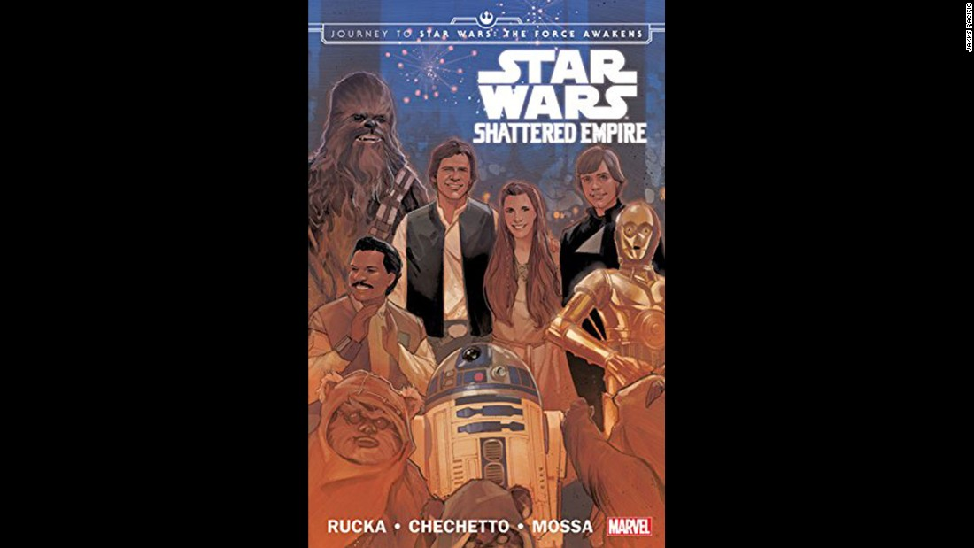 "What happened after ""Return of the Jedi""? The comic book ""Shattered Empire"" tells the story."