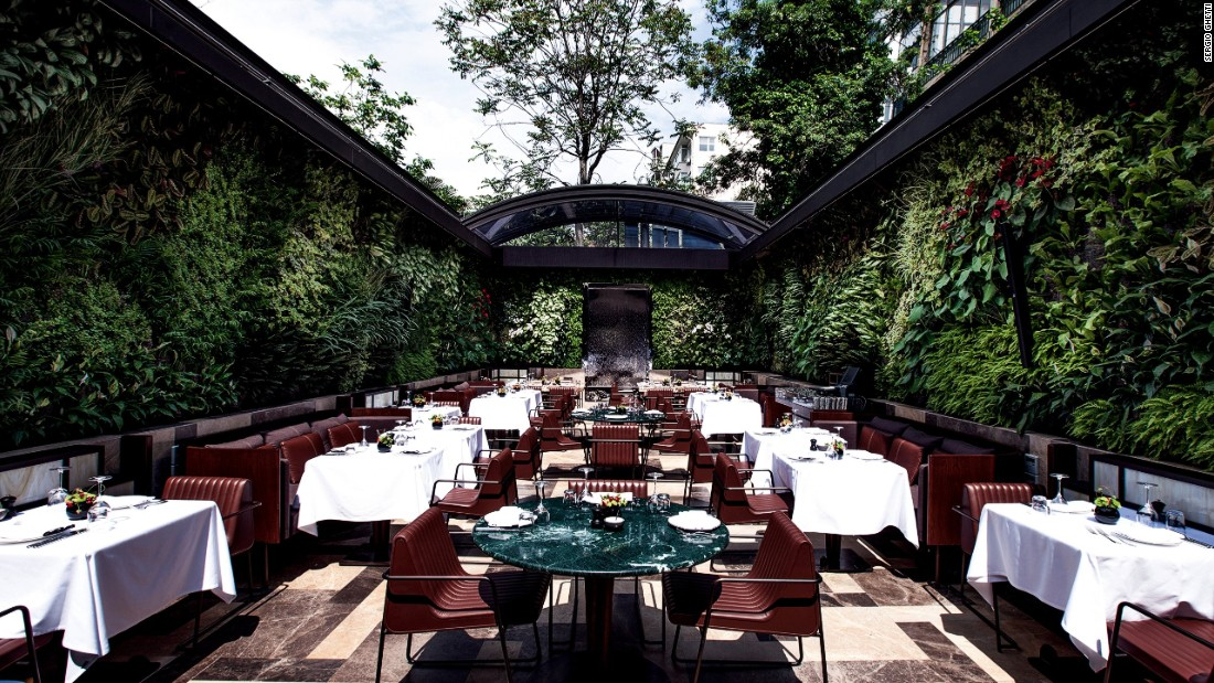 "This leafy green goddess of a restaurant by internationally recognized <a href=""http://autoban212.com/#/home"" target=""_blank"">studio Autoban</a> stands in the heart of Istanbul's stylish Nisantasi district. <br /><br />Nopa: Design by Autoban, Photo by Sergio Ghetti from <a href=""http://shop.gestalten.com/out-again.html"" target=""_blank"">Let's Go Out Again</a>, Copyright Gestalten 2015"