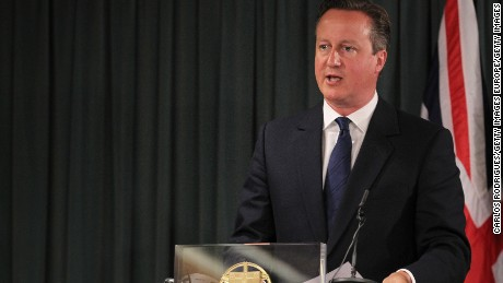 David Cameron Fast Facts