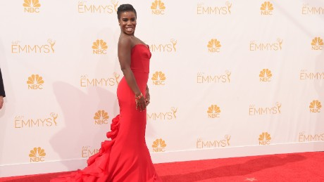 LOS ANGELES, CA - AUGUST 25:  Actress Uzo Aduba attends the 66th Annual Primetime Emmy Awards held at Nokia Theatre L.A. Live on August 25, 2014 in Los Angeles, California.  (Photo by Jason Merritt/Getty Images)