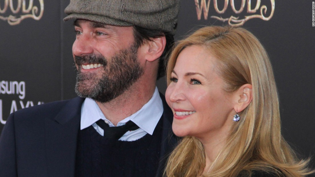 """Mad Men"" actor Jon Hamm and filmmaker Jennifer Westfeldt split in 2015, according to a <a href=""http://www.people.com/article/jon-hamm-jennifer-westfeldt-break-up"" target=""_blank"">statement</a> the former couple provided to People magazine. ""With great sadness, we have decided to separate, after 18 years of love and shared history,"" the pair said. ""We will continue to be supportive of each other in every way possible moving forward."" The couple was not married."