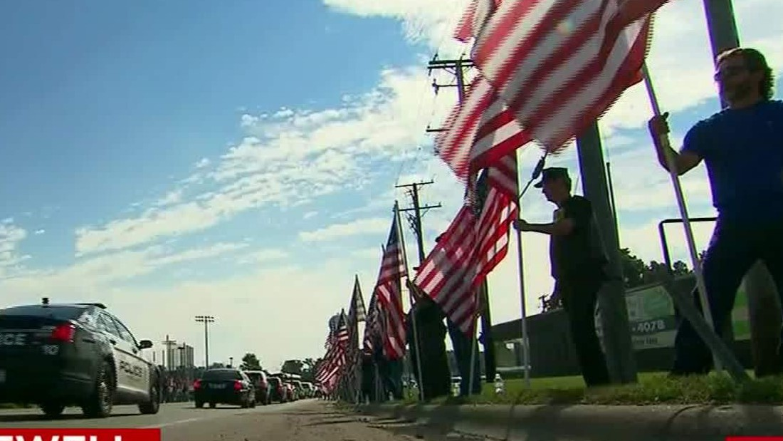 Fox Lake officer laid to rest in Antioch, Illinois