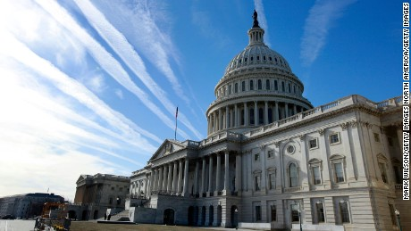 WASHINGTON - JANUARY 11: The U.S. Capitol building is seen on January 11, 2010 in Washington, DC. The United State Senate remains on break and is scheduled to return on the week of January 18.    (Photo by Mark Wilson/Getty Images)