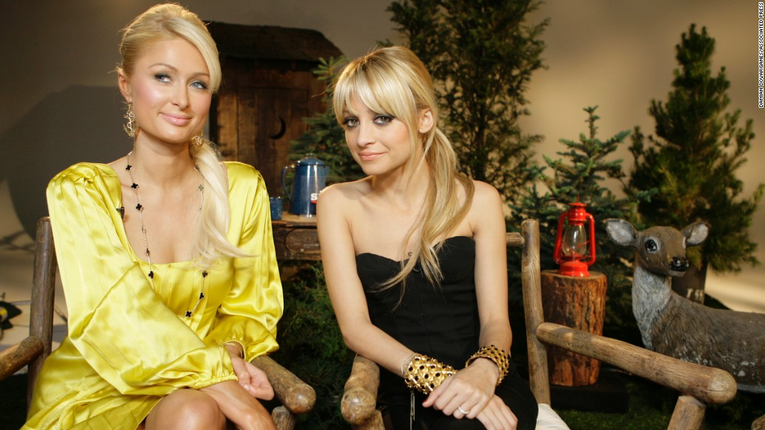 "Paris Hilton, left, and Nicole Richie starred on the early-'00s reality show ""The Simple Life."" Hilton's reality bid came after a sex tape featuring the heiress was allegedly leaked and then sold online. Despite tsk-tsks from the public, her profile increased."