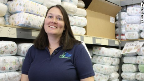 Corrine Cannon founded the D.C. Diaper Bank when her son was only one years old. The nonprofit has provided nearly 2 million diapers to low-income families.