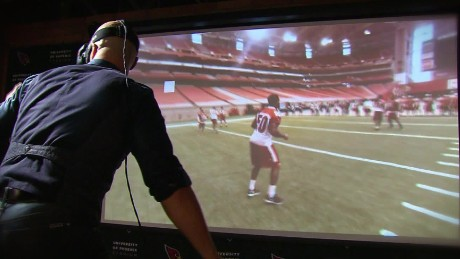 Cardinals football virtual reality playbook nfl wire pkg_00015904