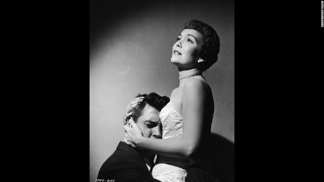 """Magnificent Obsession"" (1954) offered Hudson a star-making part opposite Jane Wyman after more than 20 films while under contract to Universal Pictures. He played a reckless playboy whose selfish ways contribute to the death of Wyman's husband and then to her blindness before he eventually redeems himself as a surgeon who heals her. Female moviegoers swooned at the new matinee idol in this improbable romantic melodrama directed by Douglas Sirk."