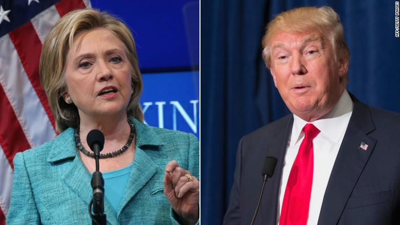 Donald Trump, Hillary Clinton leading in new poll