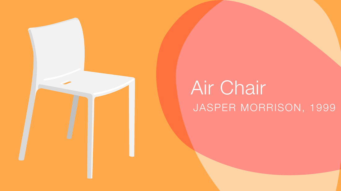 Elegant A Brief History Of The Humble Plastic Chair   CNN Style