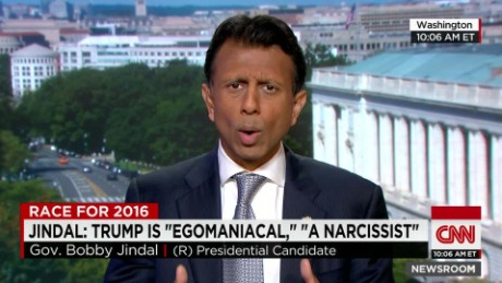 Gov. Jindal: Trump is 'egomaniac,' 'narcissist'