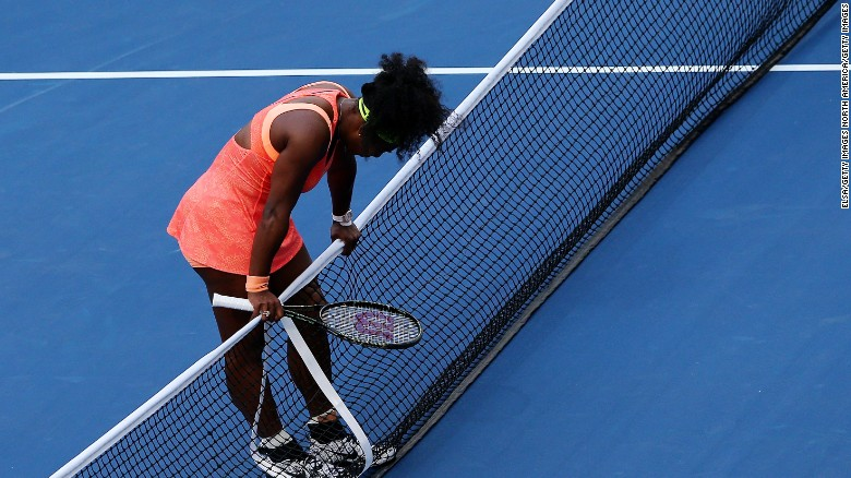 Serena Williams' grand slam hopes crushed at U.S. Open