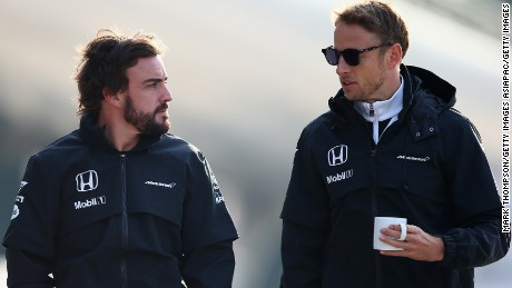 McLaren wants to keep Jenson Button - and Honda engines - for 2016