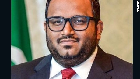 Ahmed Adheeb, Vice-President of the Maldives