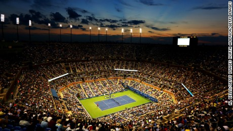Bright lights, big city: Night tennis at the U.S. Open