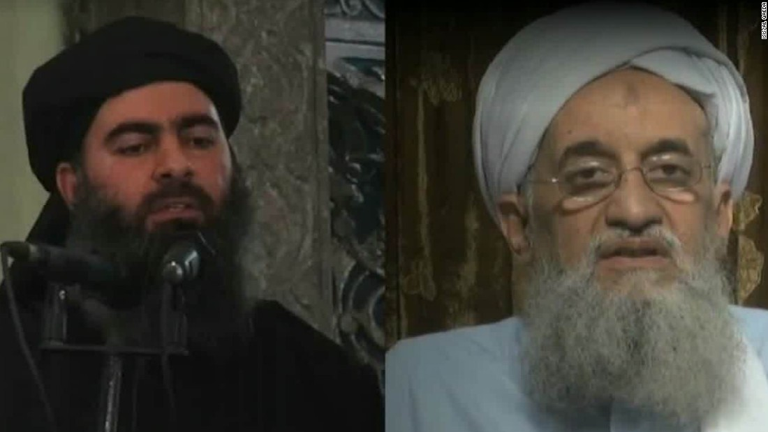 Leader of al Qaeda belittles leader of ISIS as not worthy