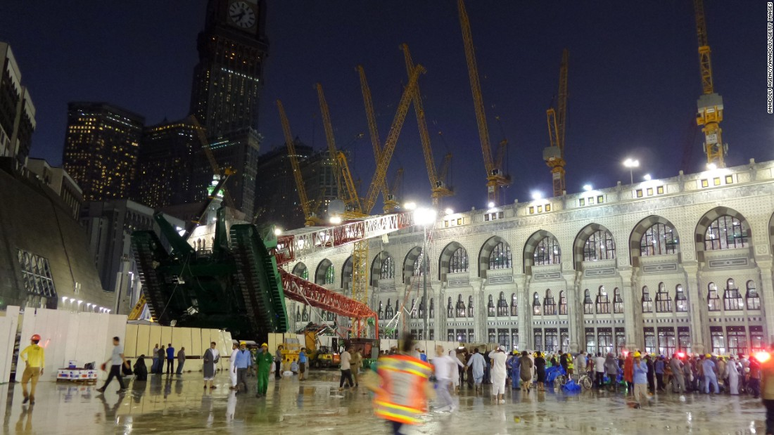 Crane Collapse Kills 107 At Mosque In Mecca Before Hajj Cnn