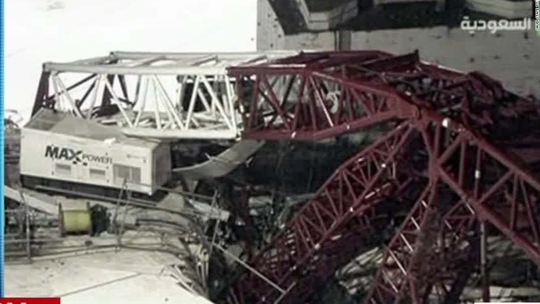 Crane collapse kills 107 people at mosque in Mecca days before Hajj