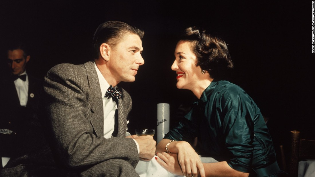"Reagan married actress Nancy Davis in 1952. ""I think my life really began when I met Nancy,"" Reagan once said."