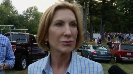 NS Slug: NH: FIORINA: TRUMP IS ENTERTAINER  Synopsis: Republican presidential candidate Carly Fiorina talks to reporters in New Hampshire.  Keywords: NEW HAMPSHIRE POLITICS GOP ELECTION 2016