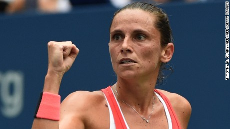 Roberta Vinci's St Petersburg Ladies Trophy triumph was the biggest title win in her singles career.