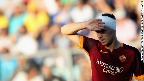 AS Roma launches 'Football Cares' initiative to aid refugee charities