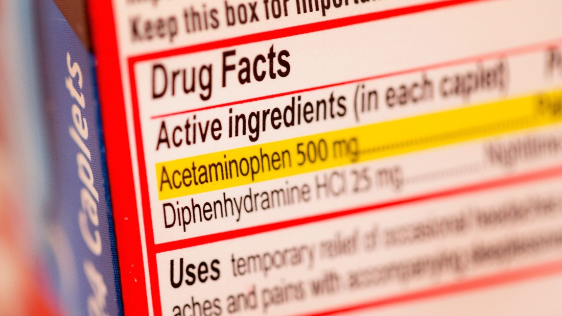 Diphenhydramine and acetaminophen