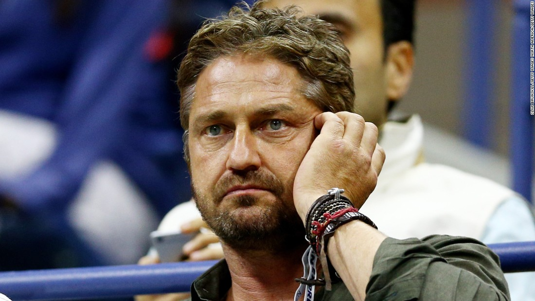 "Actor Gerard Butler watched the final in Djokovic's box. He starred in the film ""300,"" which Djokovic said he watched the previous night and said inspired him to win his third grand slam title this season."