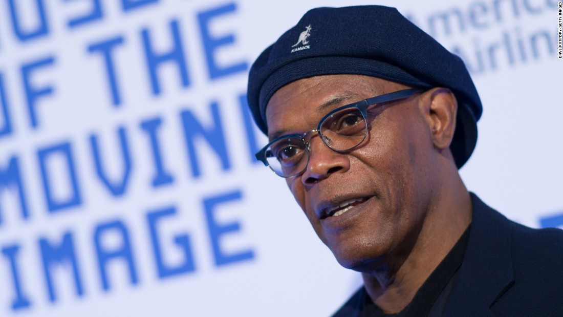 Samuel L. Jackson is now a major movie star and commercial pitch person.