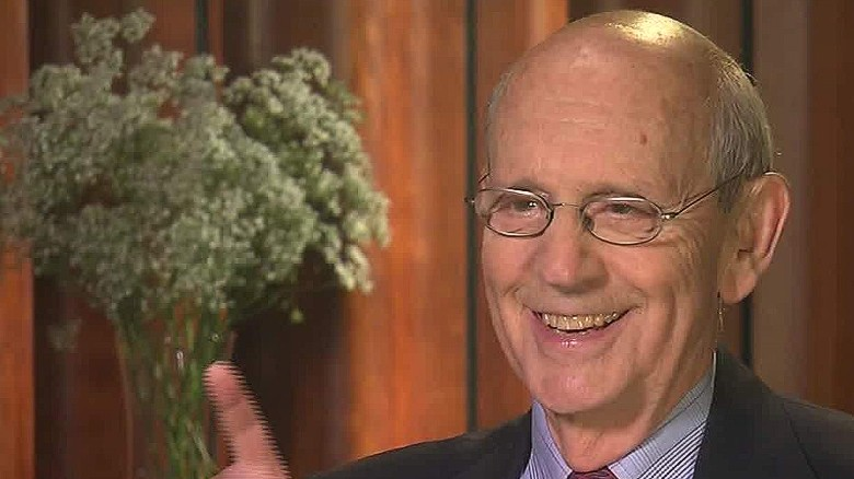 Justice Stephen Breyer weighs in on politics