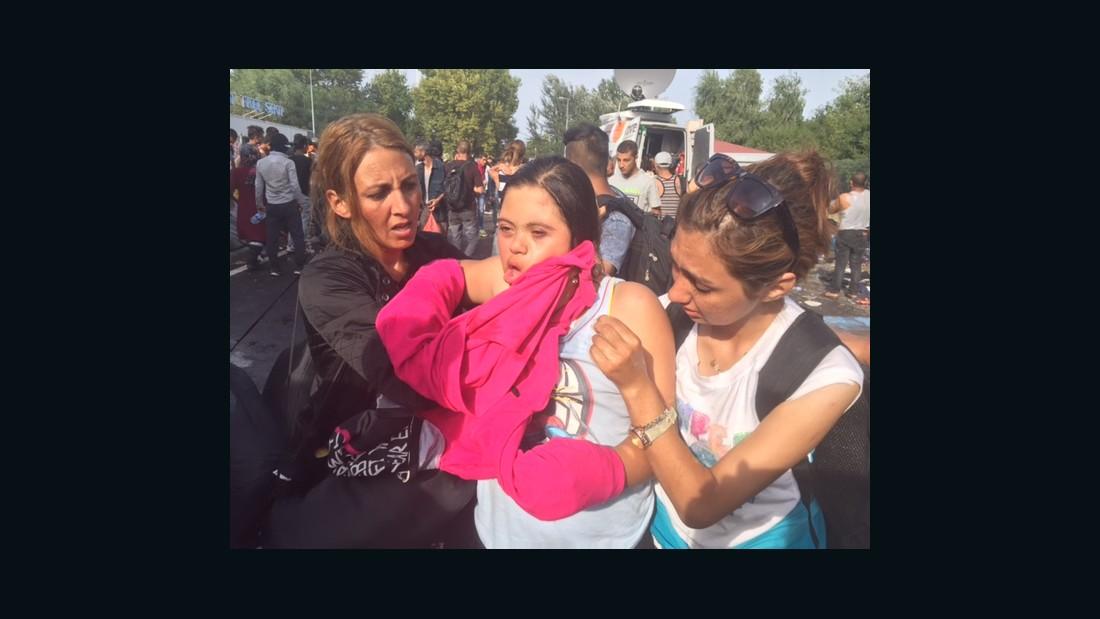 Children suffering: A true picture of Europe's migrant crisis